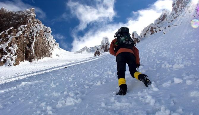 Erciyes Tırmanışı, Kuzey - Kar Buz